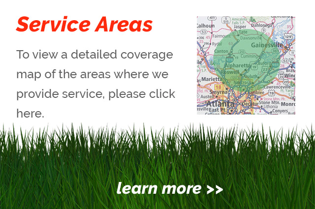 View our lawn care service area map